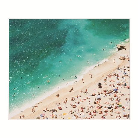 Summer Holiday Print 120x100cm | Freedom Furniture and Homewares Colour palette works well - options for art work colour