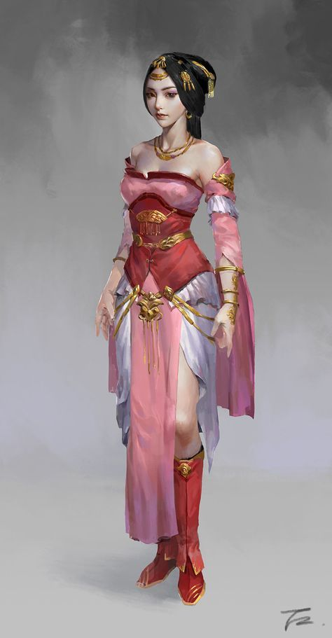 Pin By Chandru On Architecture: PRINCESS, Tong Zhuo On ArtStation At Https://www