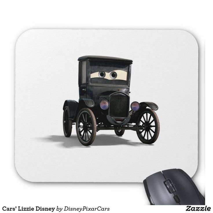 Cars' Lizzie Disney. Producto disponible en tienda Zazzle. Tecnología. Product available in Zazzle store. Technology. Regalos, Gifts. #Mousepads