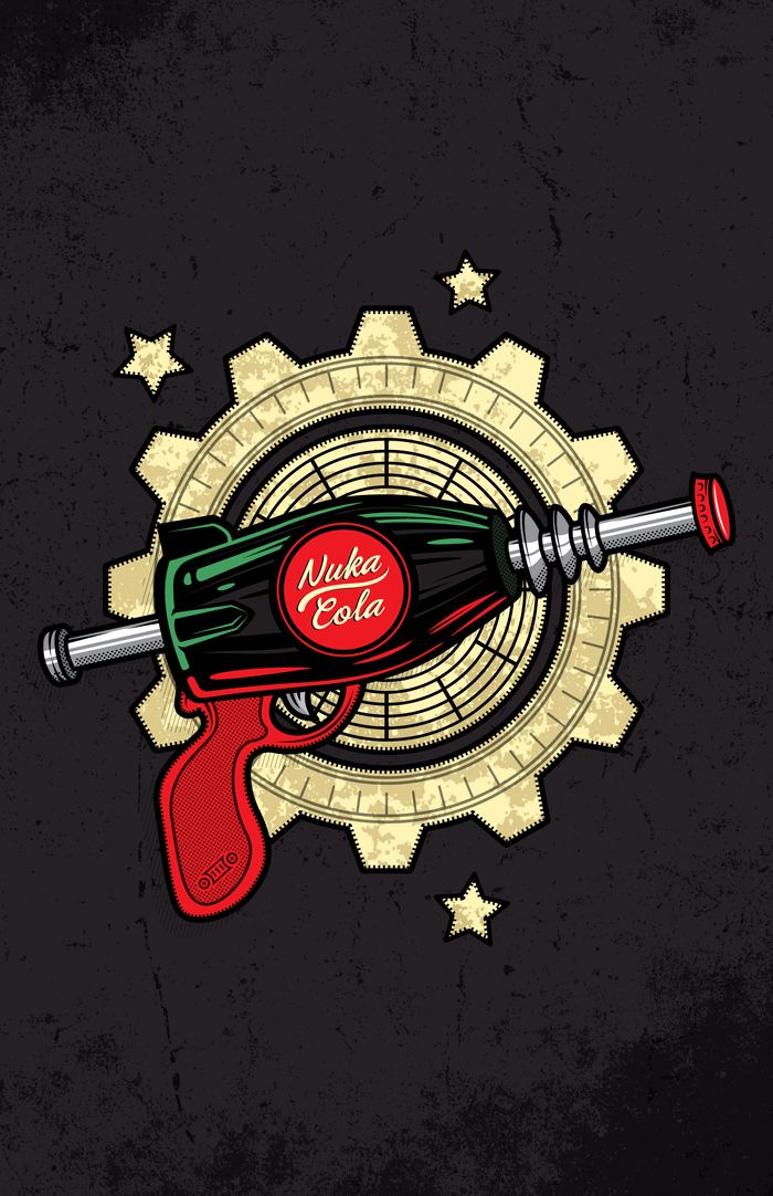 Nuka Cola! - Created by Julio Vega PeinadoAvailable for sale at the Artist's Shop.