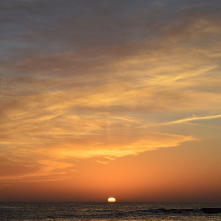 Shoot of a wonderful sunset - Plage des dunes in Beg meil