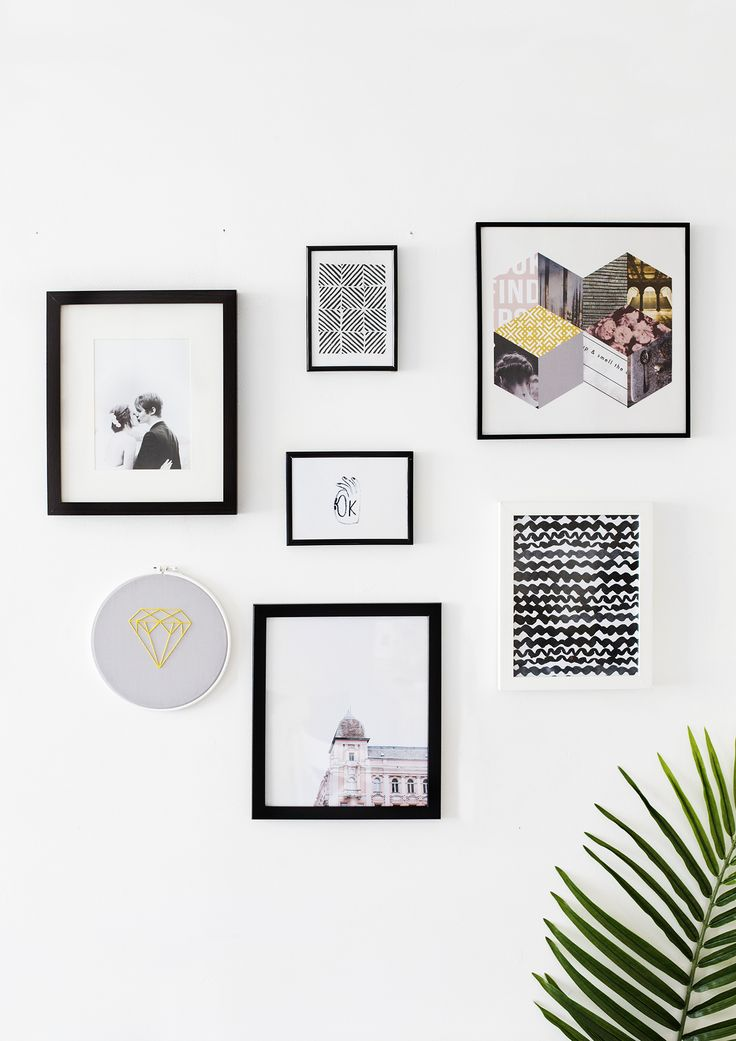 art in the home   decor   gallery wall