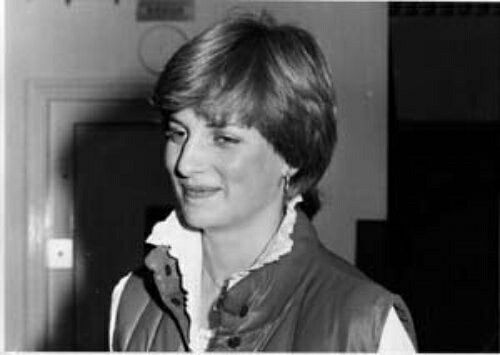 September 13, 1980 - this photo was taken in the first week after Lady Diana returned to London after being discovered watching Prince Charles fishing at Balmoral. James Whittaker and his photographer were the only people who knew Diana's address that first week, so they had her to themselves. They took a couple of photos inside the main door of Coleherne court after Introducing themselves.