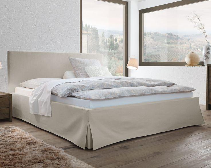 romantisches boxspringbett pilio mit husse und kopfteilbezug boxspring husse. Black Bedroom Furniture Sets. Home Design Ideas