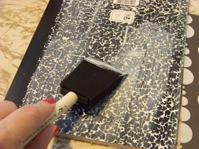 Kims Kandy Kreations: Gift Idea Week: Altered Composition Notebook