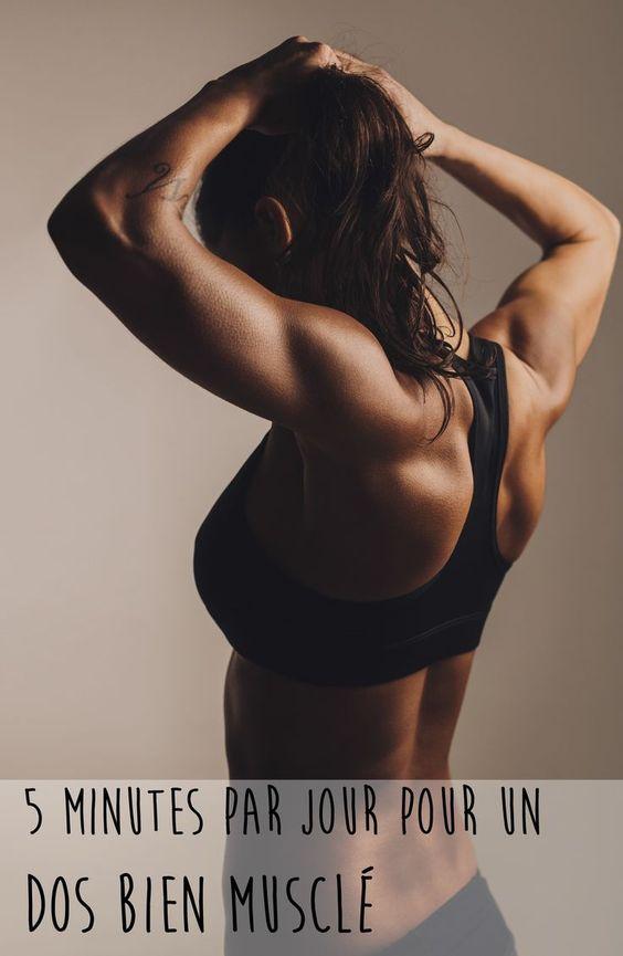 En 5 minutes par jour et sur le tapis de ton salon, tu peux rendre ton dos bien plus tonique, avec cet exercice en vidéo. Et c'est parti !