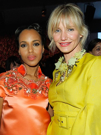 Kerry Washington and Cameron D.