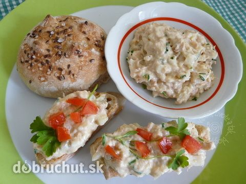 Fotorecept: Tuniaková nátierka - jednoduchá, rýchla, chutná nátierka...