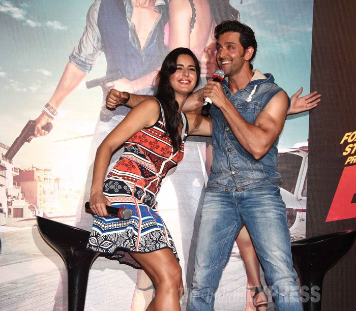 Hrithik Roshan and Katrina Kaif together to unveil 'Bang Bang', film's title track.