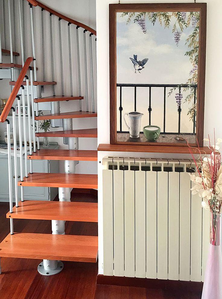 Finestra con balconata