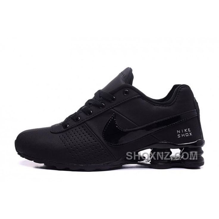NIKE SHOX DELIVER 809 ALL BLACK WOMEN BIGGER SIZE/MEN, Price: $88.00 - Shox NZ - Nike Shox NZ Running shoes - ShoxNZ.com