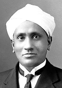 CV Raman - Recipient of the Nobel Prize for Physics in 1930 for the discovery that when light traverses a transparent material, some of the light that is deflected changes in wavelength.
