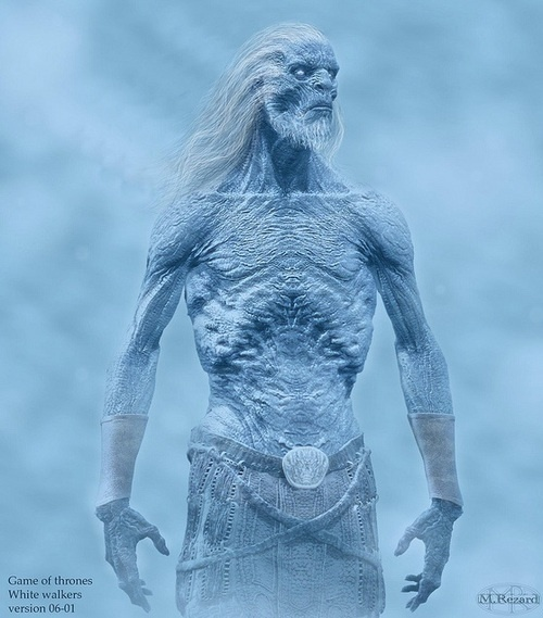 White Walker, Game of Thrones. Can't wait ! 3/31/13