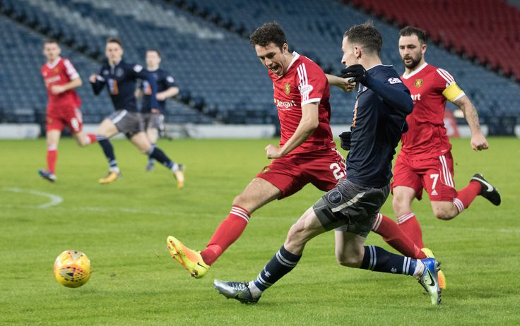 Queen's Park's David Galt in action during the SPFL League One game between Queen's Park and Albion Rovers.