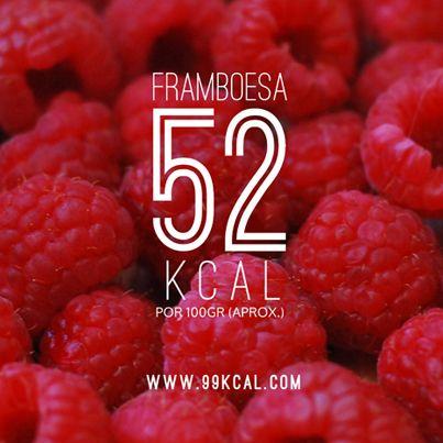 Um fruto bem baixo em calorias aqui: http://www.99kcal.com/2013/10/10/framboesa-52-calorias/