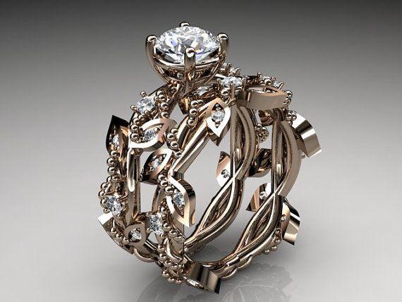 Wedding rings overnight