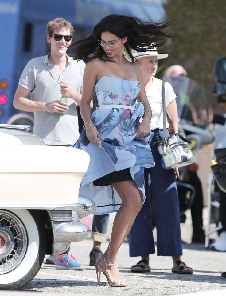 Adriana Lima – Vogue Eye Wear Photoshoot Candids : Global Celebrtities (F) FunFunky.com