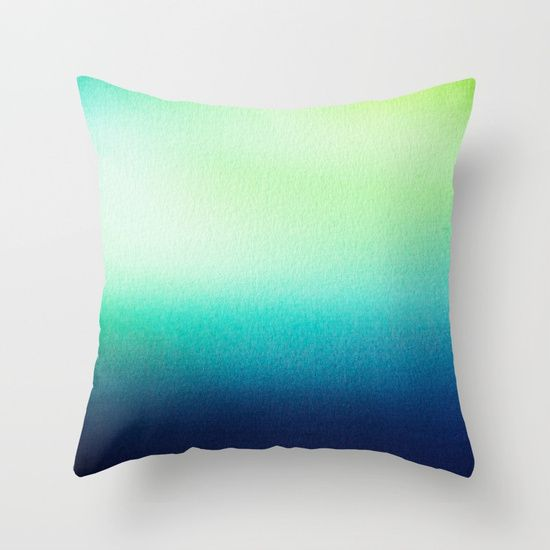 BLUR / tropical Throw Pillow by DANIEL COULMANN | Society6