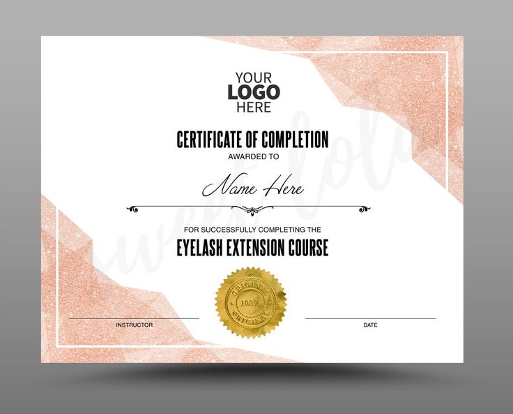 Certificate Template, Instant Download, Certificate of ...