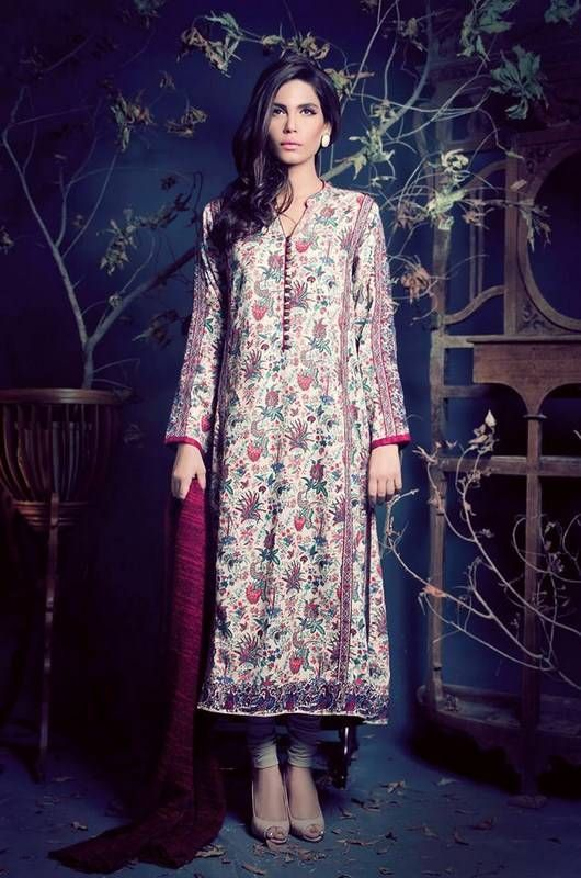 Ethnic By Outfitters , trousers long shirts, embroidery , shirt was long-casual wear, formal wear, party wear, semi - formal wear-03