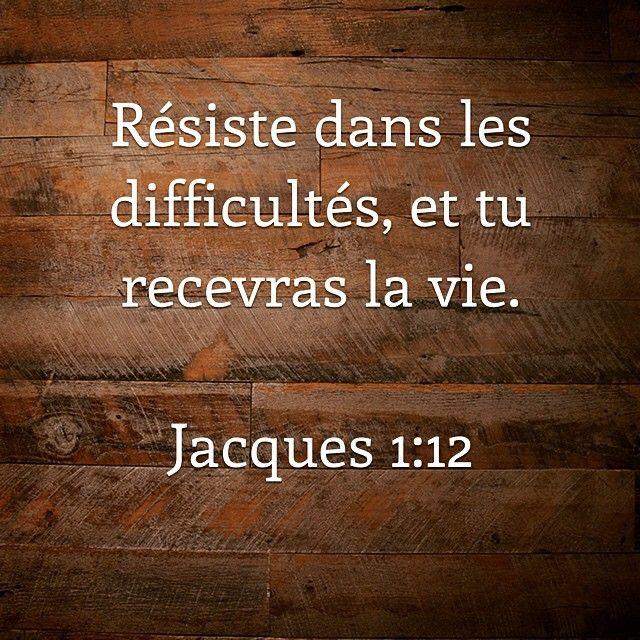 http://bible.com/133/jas.1.12.pdv #stress #difficultés #épreuve #combat #labible