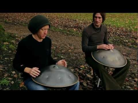 I saw (and heard *g* ) a Hang Drum player in Strasbourg last year. It's such an amazing instrument. Hard to believe that what's basically a steel pot can make such music! And this vid lets you hear just how awesome it sounds.