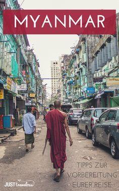 Der perfekte Guide für eure Myanmar Reise. Alles zu den Themen: Visum, die beste Reisezeit, Geld, Transport, Internet, Unterkunft in Myanmar (Birma) und mehr.