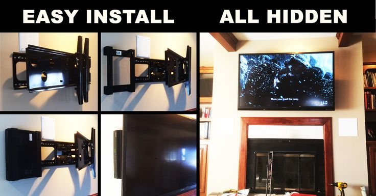 Patrick created a CLEAN setup in MINUTES! Hide your Cable Box and Cables QUICK!