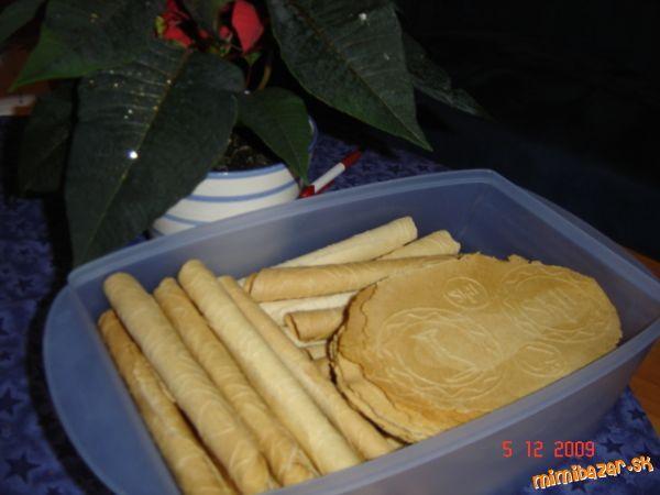 Najlepšie Vianočné trubičky oplátky recept aj na slané