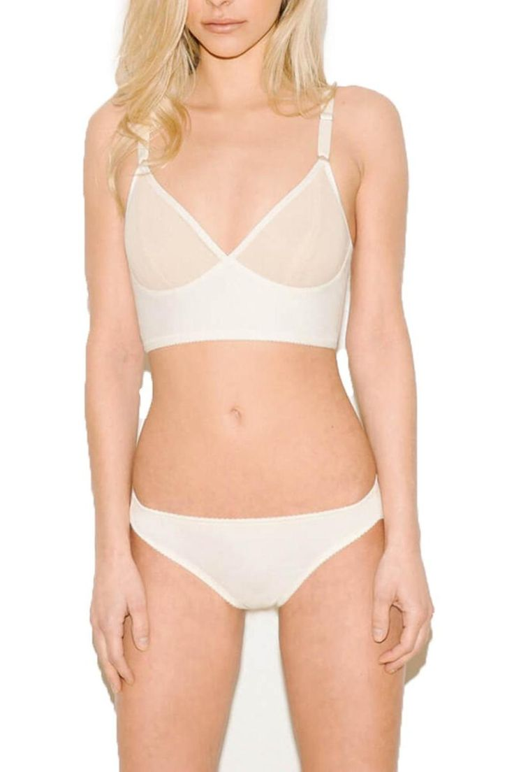 Full coverage and folded mesh back that provides a smooth seamless look.    Luna Seamless Bikini-Panty by Fortnight Lingerie. Clothing - Lingerie & Sleepwear - Panties Canada