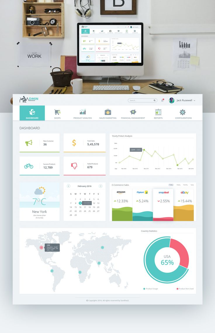 Product Dashboard UX - Clean UI Design