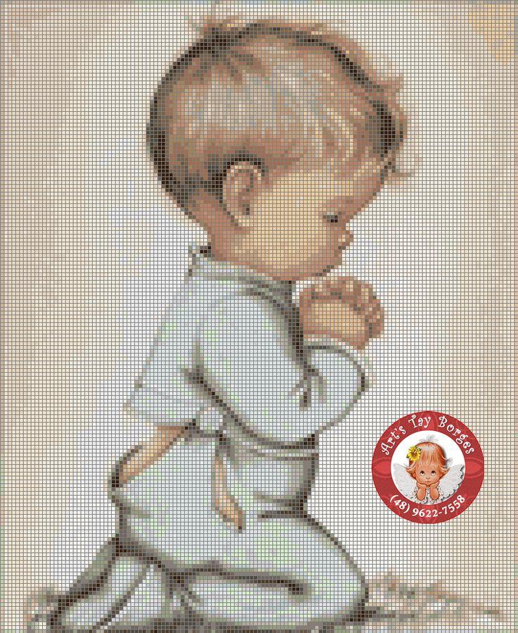 modlící se kluk