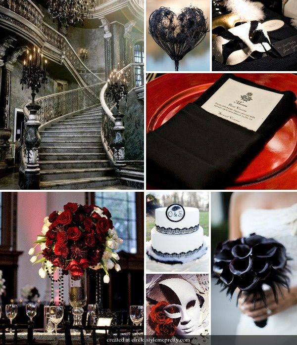 "Masquerade Ball Wedding Ideas: 65 Best Theme: ""Phantom Of The Opera"" Wedding Images On"