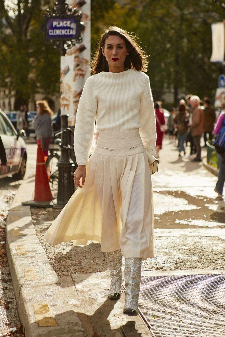 Atrévete con un total look en blanco roto | Telva.com