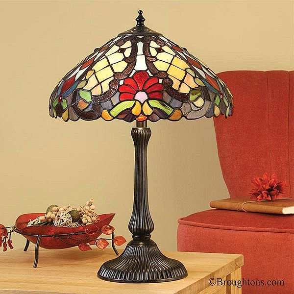 Interiors 1900 Diana Small Tiffany Table Lamp