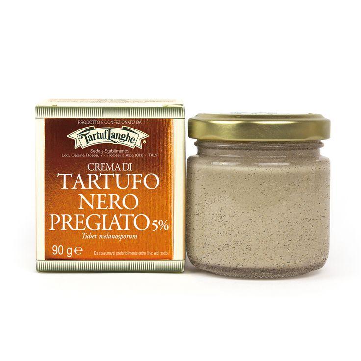 Ingredients: milk, cream, butter, black winter truffle (Tuber melanosporum) Weight: 90g