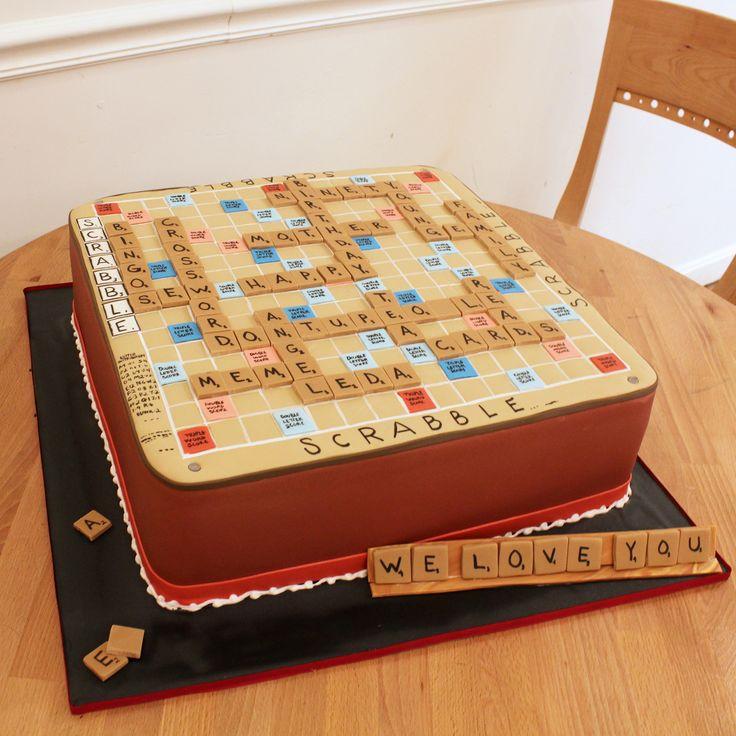 Scrabble Cake ...