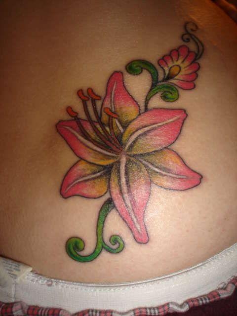 Tiger Lily Tattoo Designs Foot Bodies baddest annual tattoos