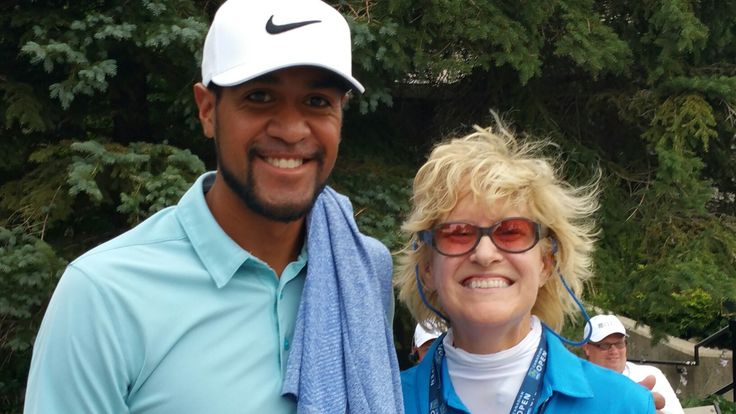 Tony Finau & Susan Glen Abbey