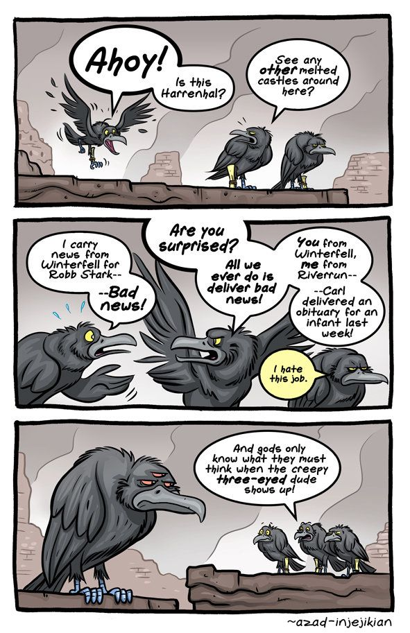 Witty Comics Based On Characters U0026 Scenes From U0027Game Of Thronesu0027