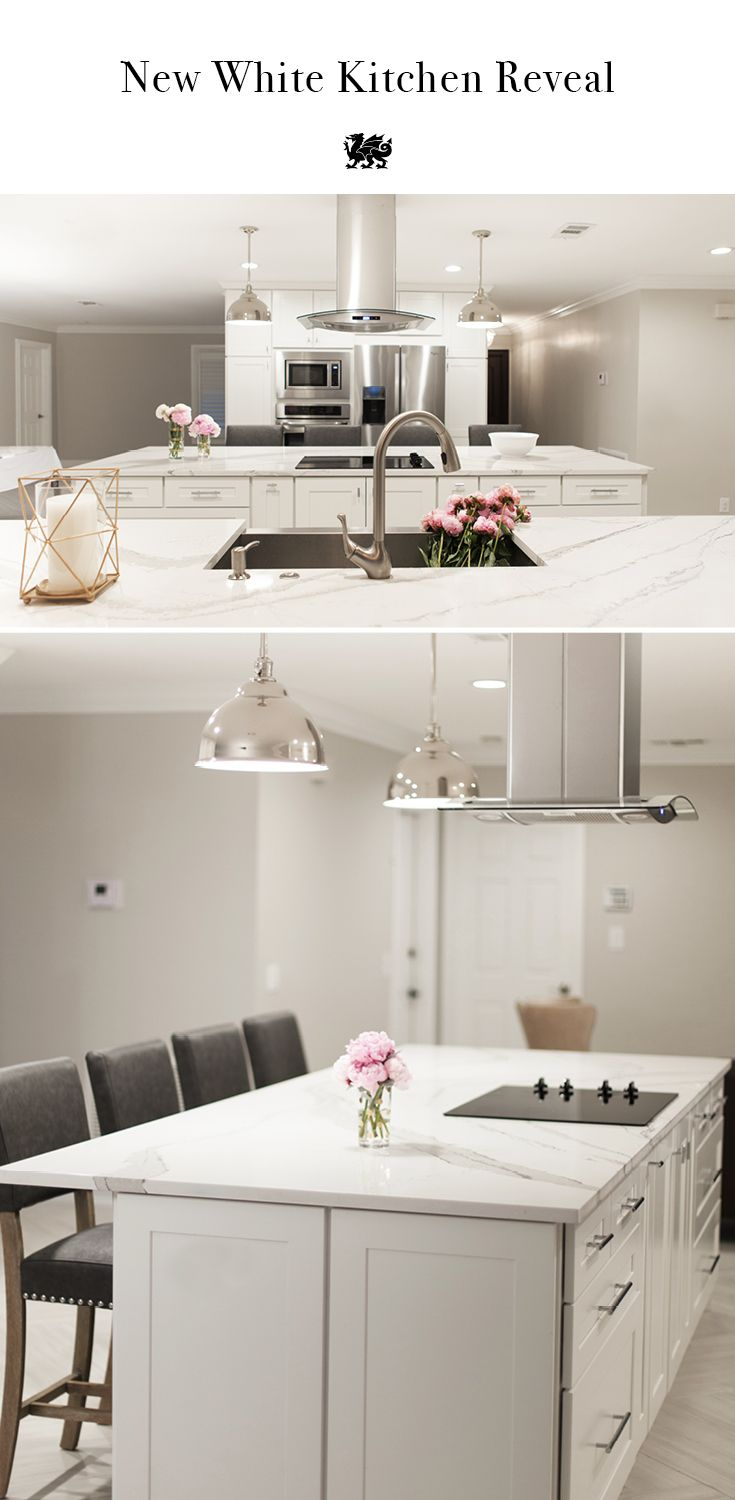 13 Best Images About Kitchen Island Ideas On Pinterest Shaker Cabinets Quartz Slab And Home
