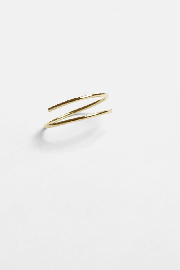 earring - nini - Anna Lawska Jewellery / collection - back to basic -