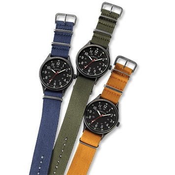 Orvis Vintage Military Watch (the dude was eyeing this style while watching Band of Brothers)