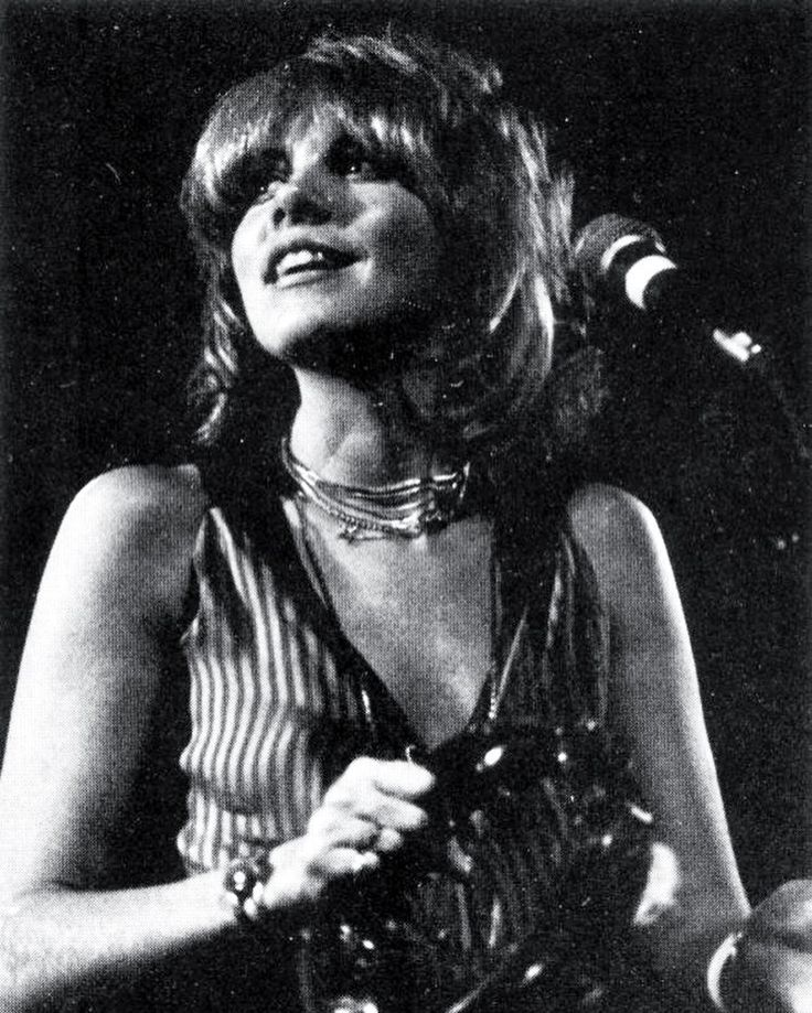 Stevie Nicks performing with Fleetwood Mac at Kean University in Union, New Jersey on The White Album tour
