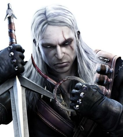 Geralt of Rivia from The Witcher video games