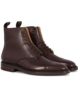 Crockett & Jones Northcote Boot Dark Brown Calf