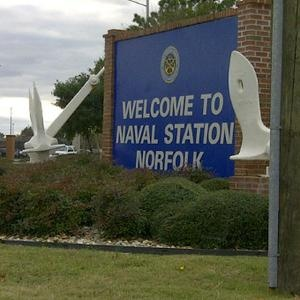 Naval Station Norfolk -- My dad was stationed here in the early sixties.
