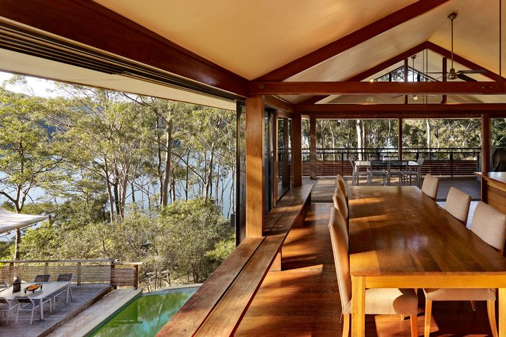 Architect-designed, Modern house for sale: 2 Cottage Point Road, Sydney NSW 2084. Modern House: Rickard House III by Bruce Rickard & Associates.