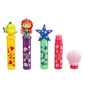 Disney Ariel Lip Balm Set | Disney StoreAriel Lip Balm Set - Princess Ariel and her undersea subjects are here to color your world with this set of lovely lip balms. Cute sculptured caps crown-off four favorite shades to keep lips moist in sunny kingdoms.