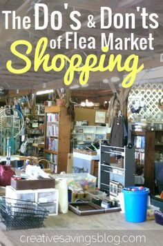 It's almost the weekend.  Have you planned your next flea market hunt?  Not sure what to buy at a flea market? Here are my flea market shopping tips for getting the best price, on quality items.
